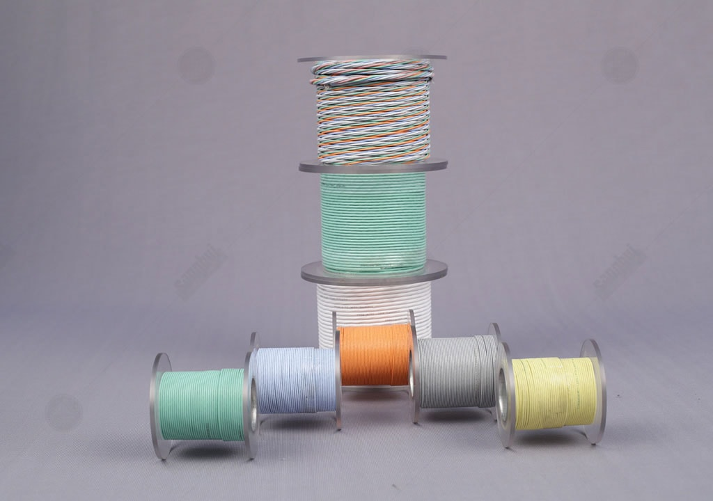 Polyimide and PTFE Composite Insulated Wire as Per Mil-W-22759 Wires ...