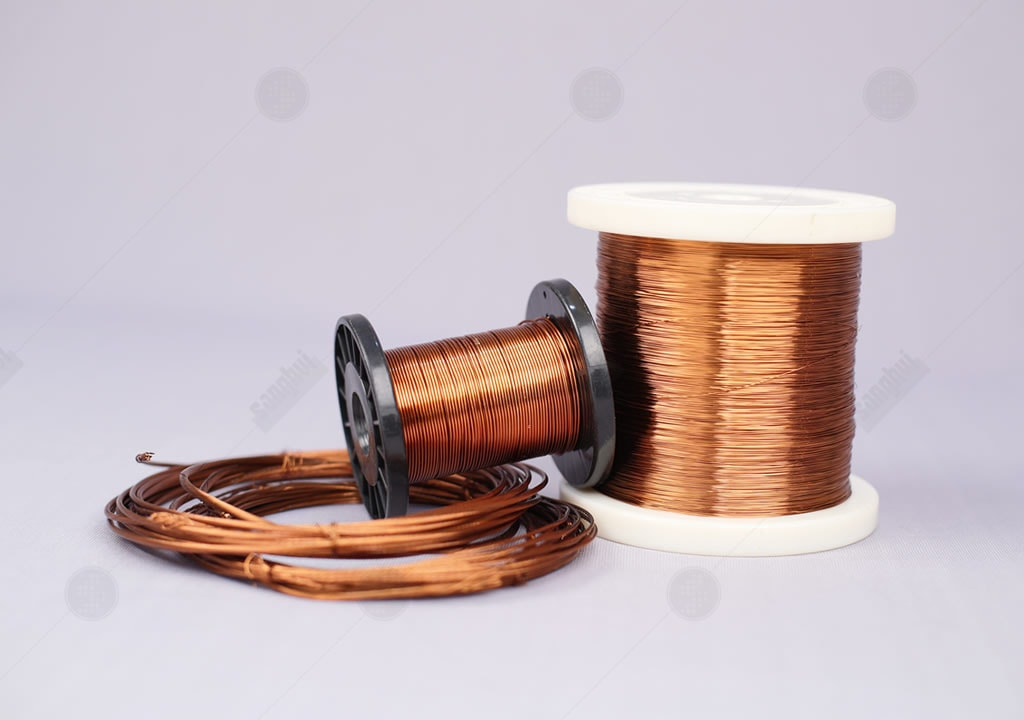 Single Polyimide Insulated Round Magnet Wire Nema Mw1000